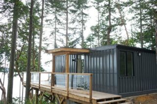 High style container home